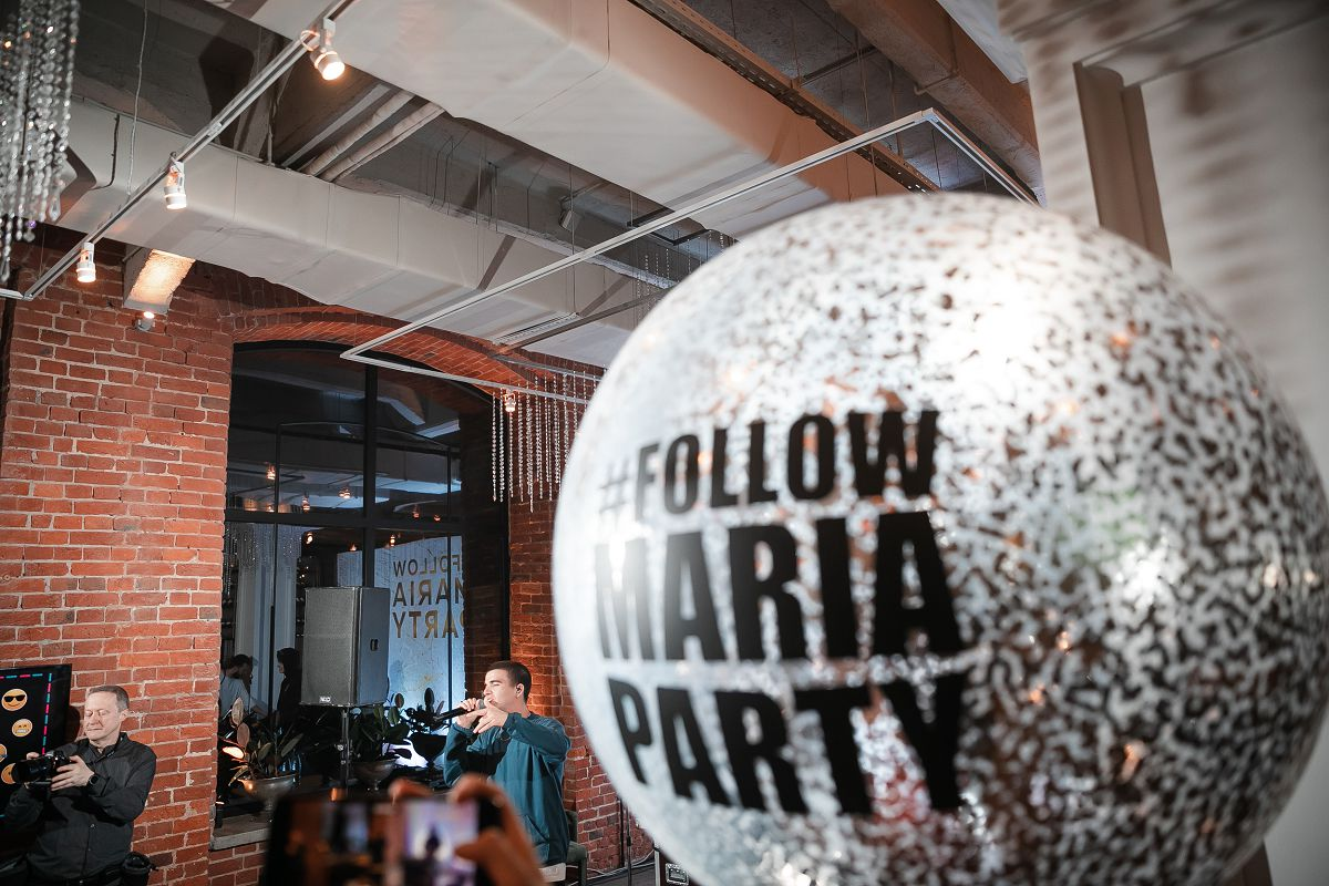 #FollowMariaParty